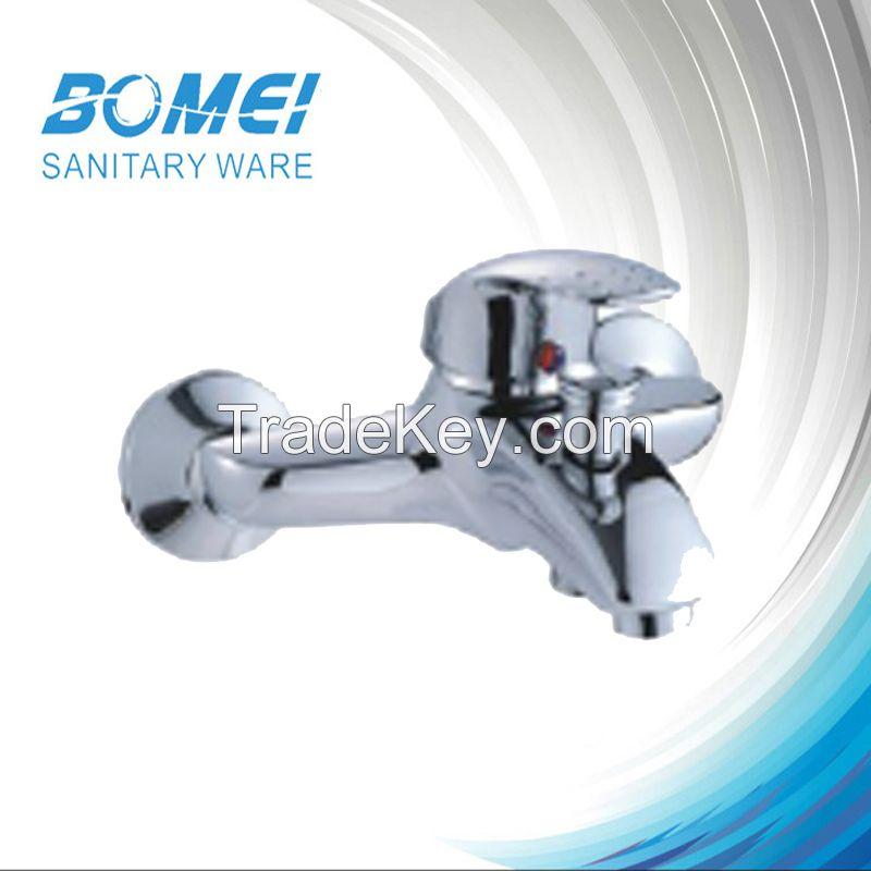 Heavy body big body single lever faucet(brass body , zinc handle)