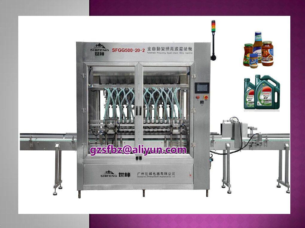 Automatic liquid/paste filling machine