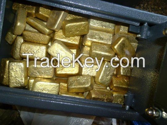 Gold Bars (97.8% Purity)