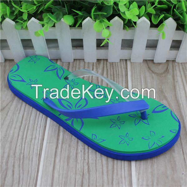 EVA material women style beach slippers