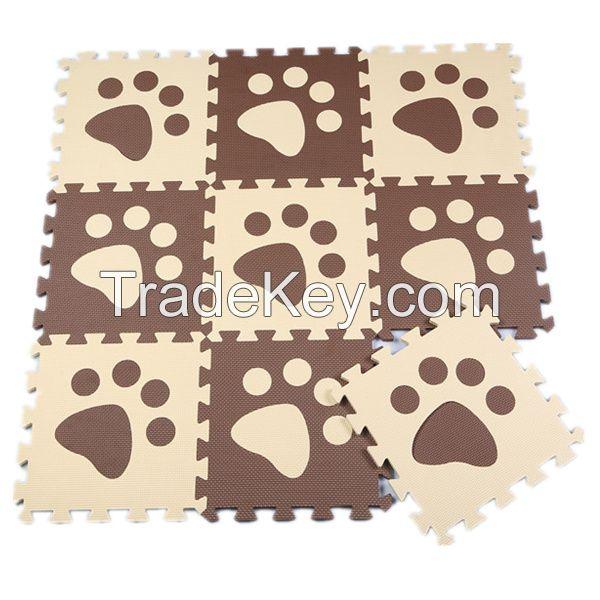 Kids Eco-Friendly EVA Foam Interlocking floor Mat EVA puzzle mat