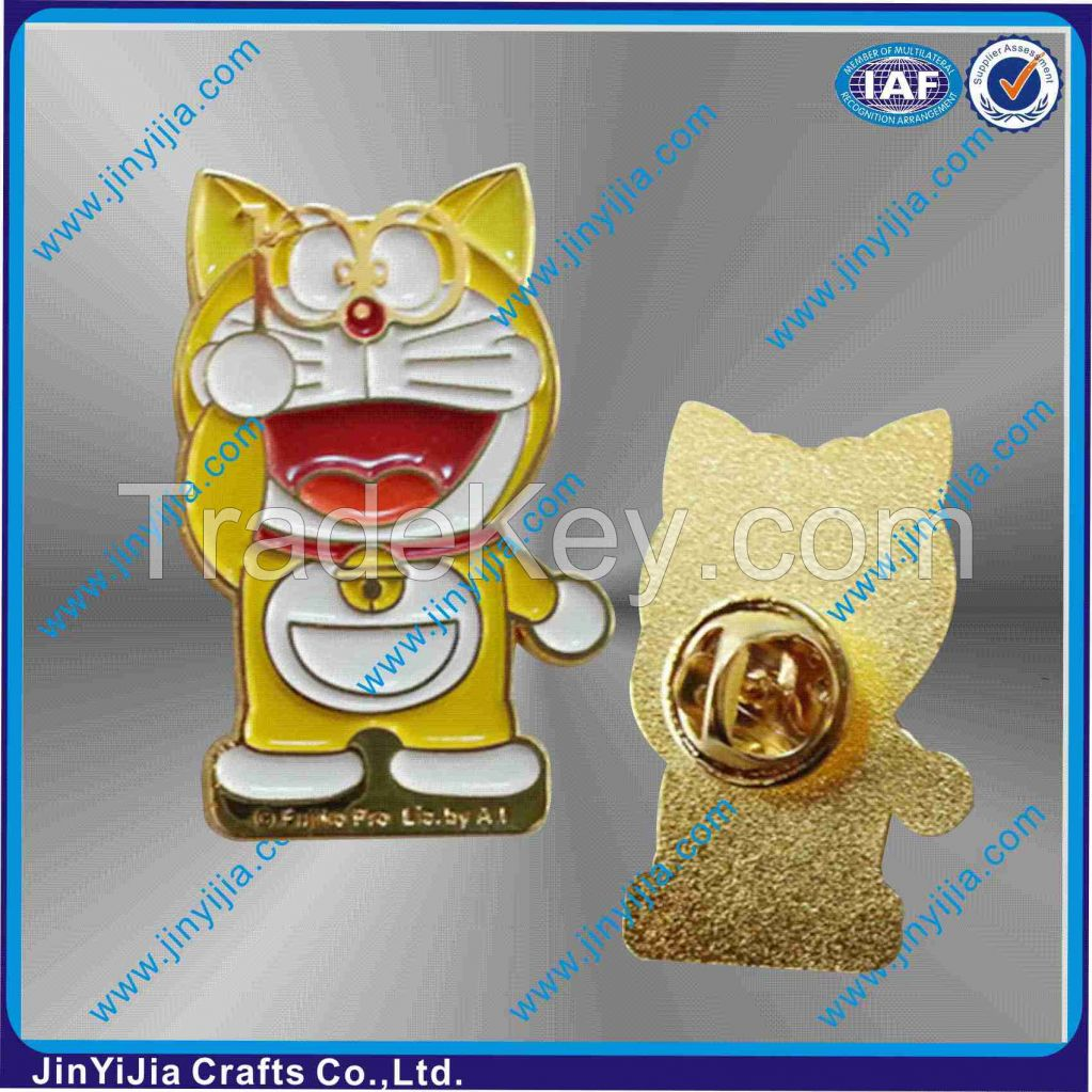 Wholesale High Quality Hello Kitty Character Metal Badge