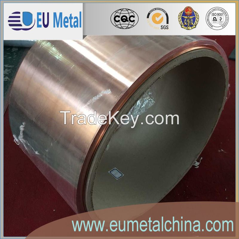 aluminum strips and copper strips for transformer winding