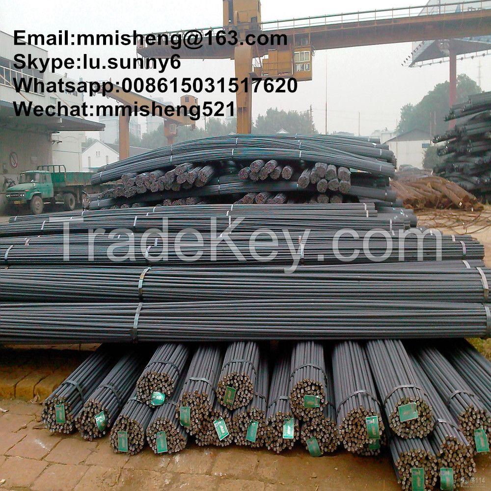 HRB335/400/500 deformed steel bar TMT bar iron bar