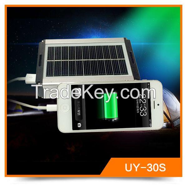 Energy saving power bank rechargable camping led lantern led outdoor solar light