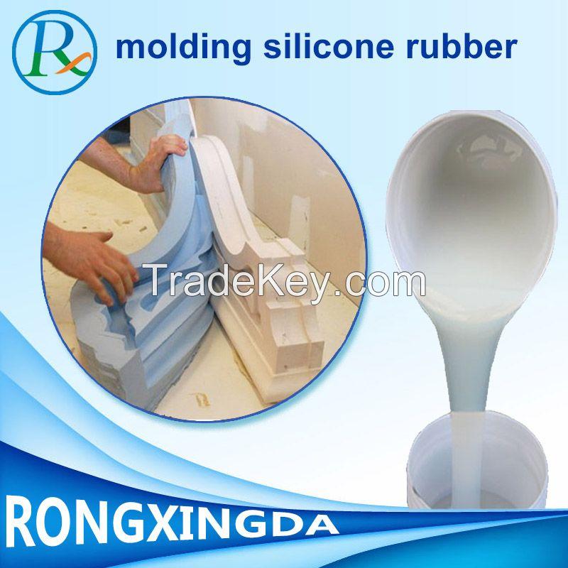 silicone rubber for plaster casting cornice mold