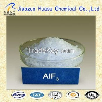Aluminium fluoride with high quality and 90%min purity from Huasu Chemcial