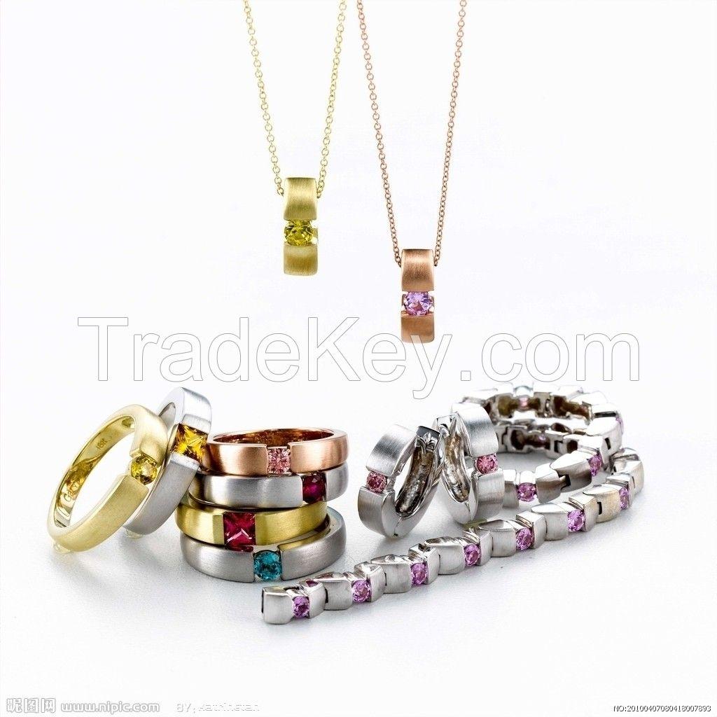 2015 Fashionable Crystal Jewelry