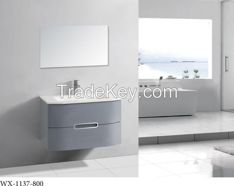 Hangzhou high quality solid wood european bathroom cabinet