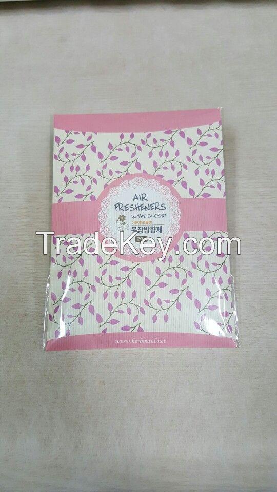 Envelope shape air freshener