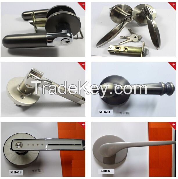 Manufacturer Tubular leverset Privacy passage Entry door lockset
