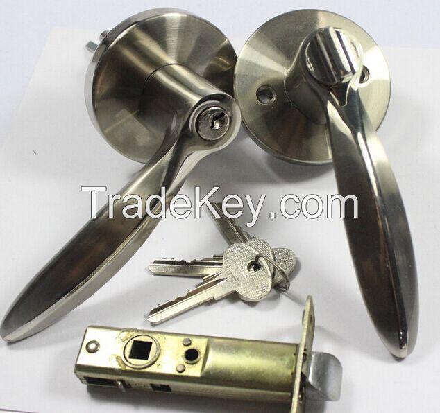 Tubular leverset Entry passage privacy door lock MH607