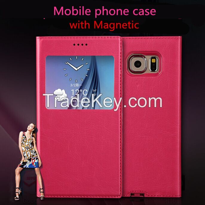 mobile phone tpu case with magnet