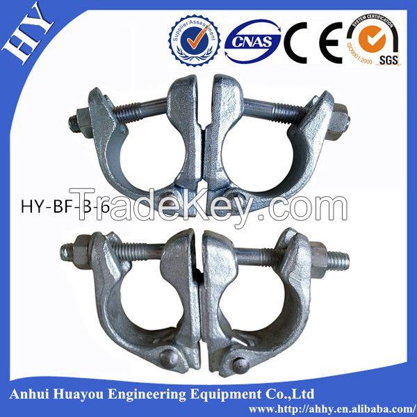 steel scaffolding half swivel couplers