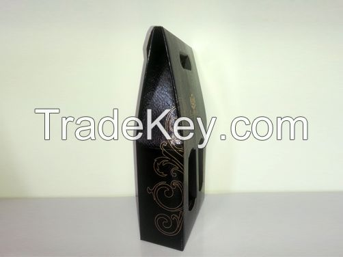 Crocodile Texture Foil Paper Laminated Corrugated E-flute Flat Box