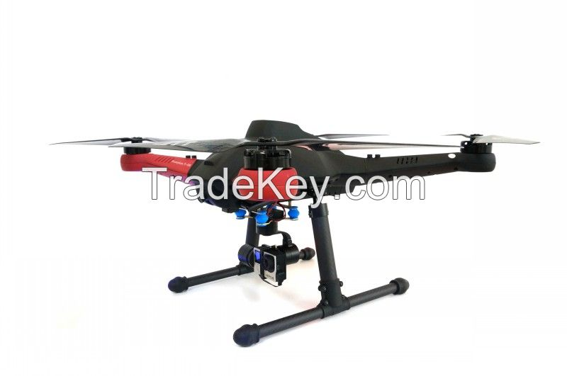 JTT T50 5.8Ghz Multiple Rotor Military Aircraft, Wireless Flying Camera Remote Control Multicopter With GPS, Professional Aerial Photography Unmanned Aerial Vehicle UAV