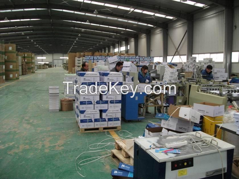 High quality super white 100% wood pulp a4 copy paper 80g