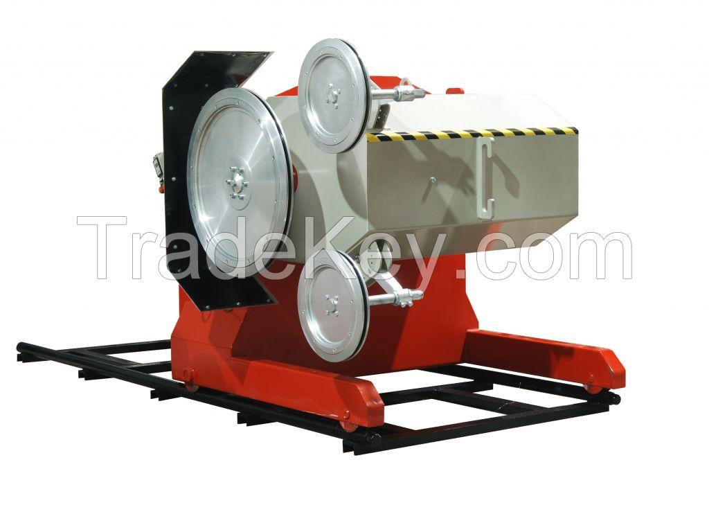 KUR TK 100 hp Granite wire cutting machine