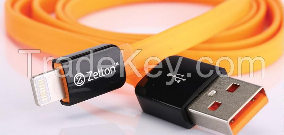 Lightning Flat Cable for iphone  to charge and data transmission
