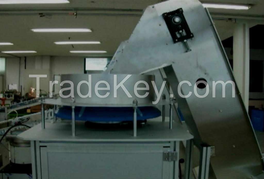 M.Smart syringe assembly machine line