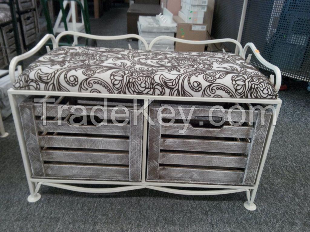 Handmade ottoman