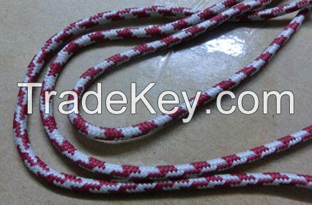Custom Nlyon polyester rubber elastic non- elastic  cords