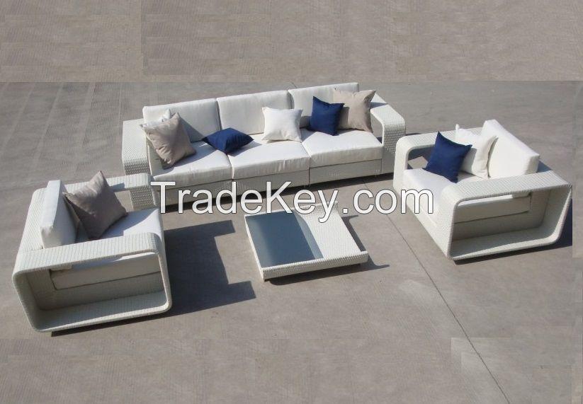 Contemporary furniture outdoor garden used fabrique sofa set
