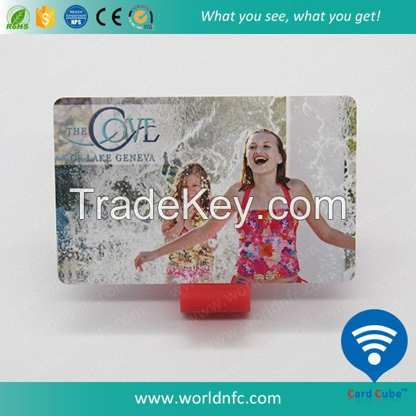 PVC Full Color Printed Proximity 125KHz/13.56MHz RFID Smart Card