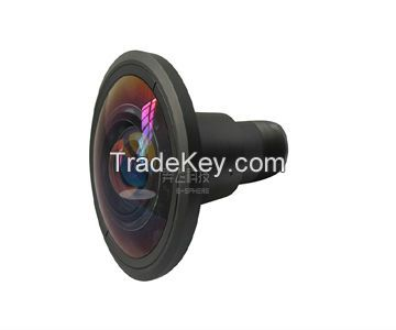 360 degree fisheye projector lens for Vault Roof Display