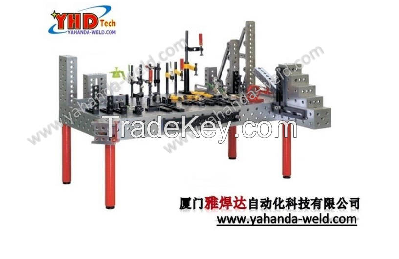 3D Modular Welding table and fixtures system