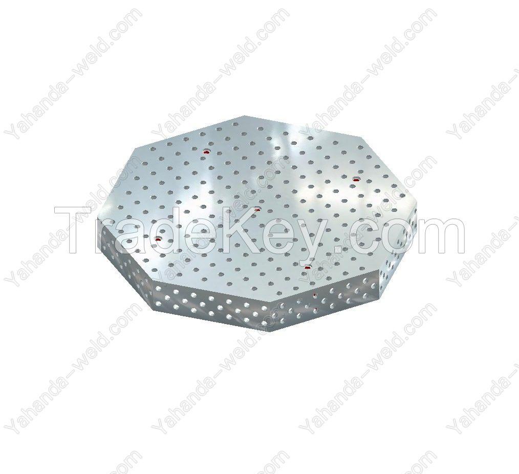 3D Octagonal welding table (2D Octagonal welding table)