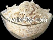Dehydrated white onion bold cut