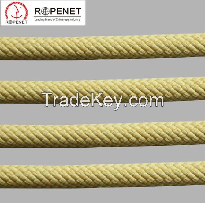 Fire Escape Flame Retardant Aramid Rope Made of Imported Kevlar Fiber