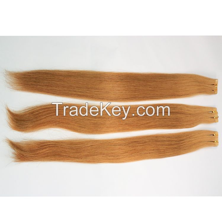 Brazilian Hair Straight Remy Invisible Tape Hair Extensions