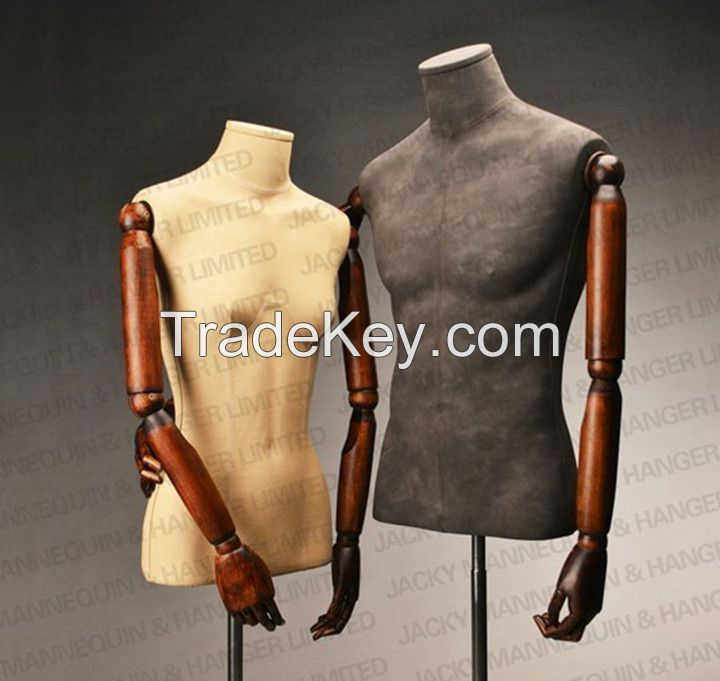 Fashion store window display Mannequins for female/male/kids