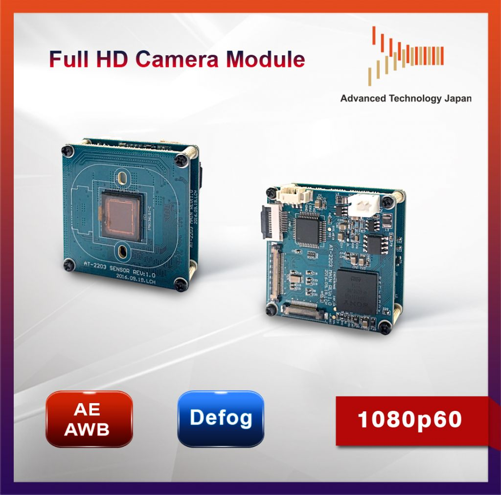 Full HD 1080p60 HD-SDI Camera