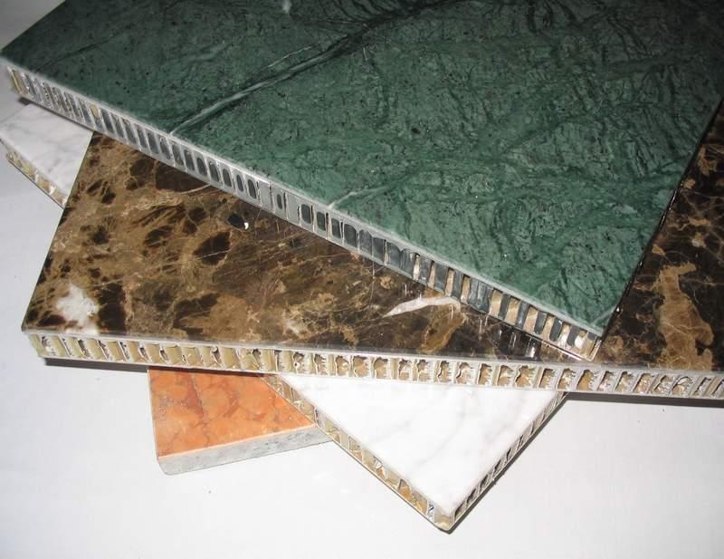 Stone Panel With Aluminum Honeycomb
