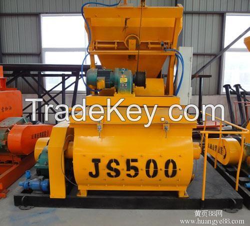 High quality JS500 concrete mixer for sale