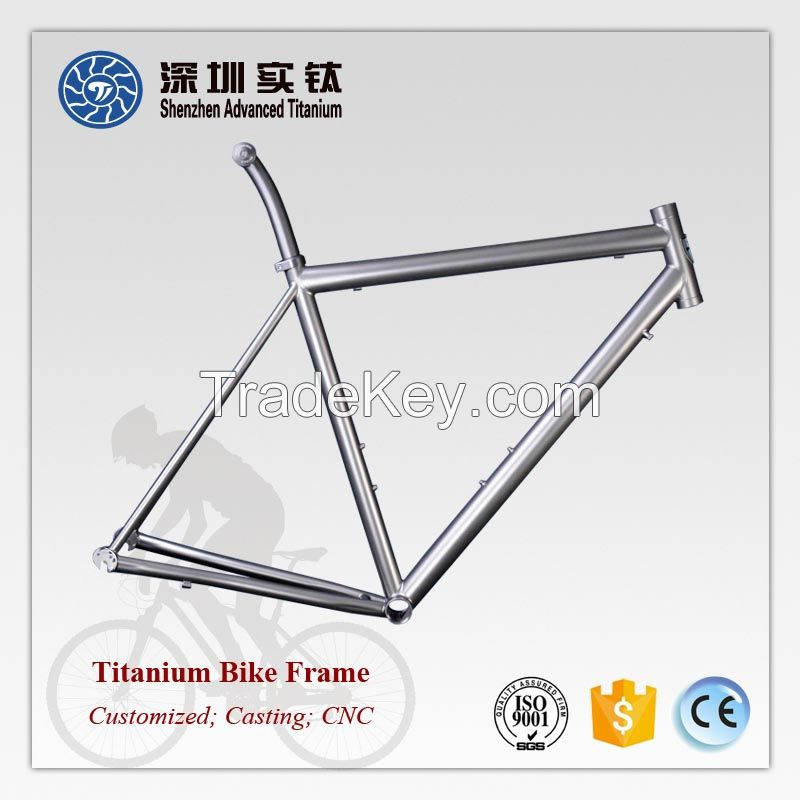 High quality titanium bike bicycle frames supplier in China