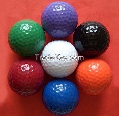Multicolor golf ball
