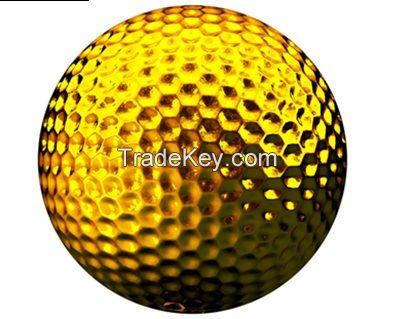 Metal Golf ball Golden Color Golf ball