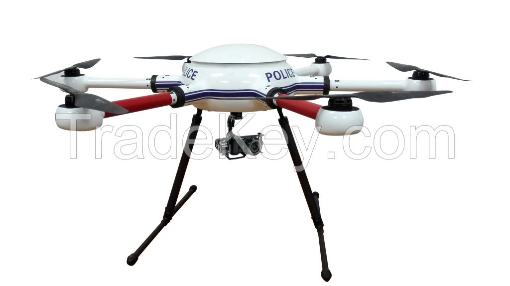 6-rotor drone for commercial applications
