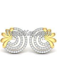 The Carol Diamond Earrings Online