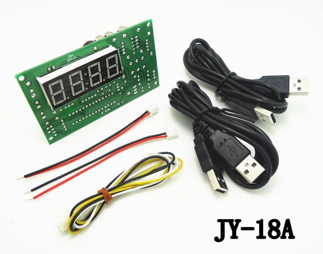 Newest CH-18 coin operated USB time control Timer Board Power Supply for coin acceptor selector device, USB devices, etc..