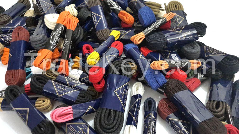 Textile , Shoe Laces , Leather Laces , Cotton Non Wax Laces , Cotton Wax Laces , Leather Laces , Polyster Laces , Leather Belts , Kids Garments , Kids Apparel