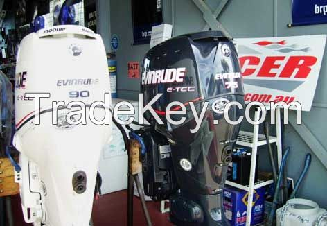 Buy Used Evinrude E Tec 75 HP 75 HP Boat Outboard Motor Engine