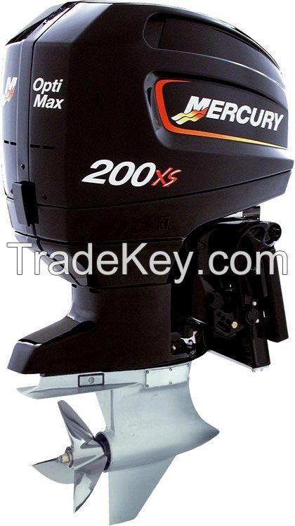 Buy Used Mercury Racing OptiMax 200 XS  200 XS ROS Outboard Marine Engine