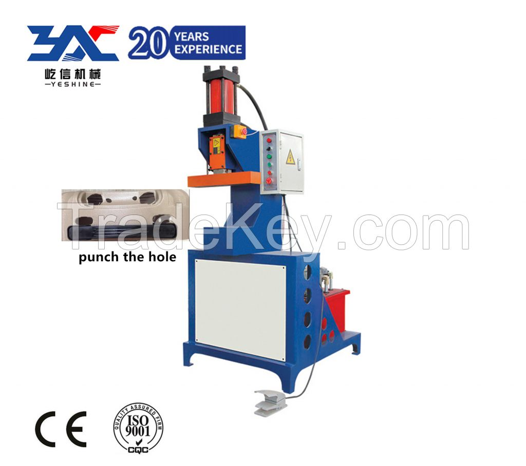 Luggage Hole Puncher Machine