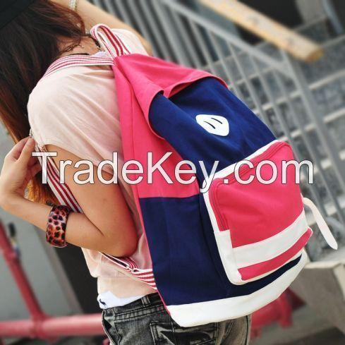 Brief simple design backbag