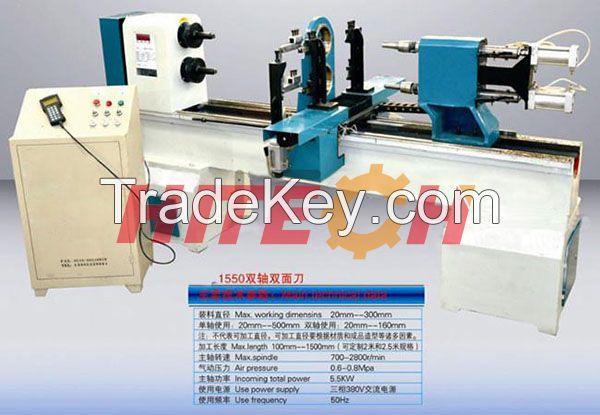 Good Quality Chinese Wood CNC Lathe, HITECH Wood Turning CNC Machine, High Speed Wood CNC Lathe